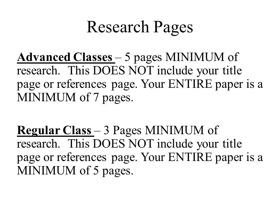 apa title page for research papers
