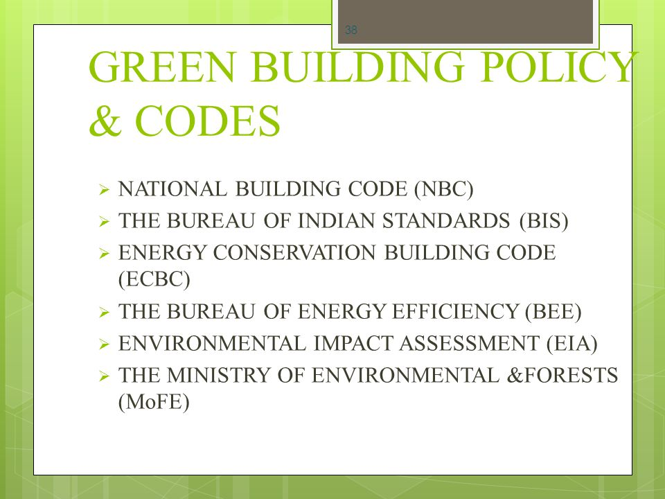 Concept of green building ppt video online download for Bureau hindi meaning