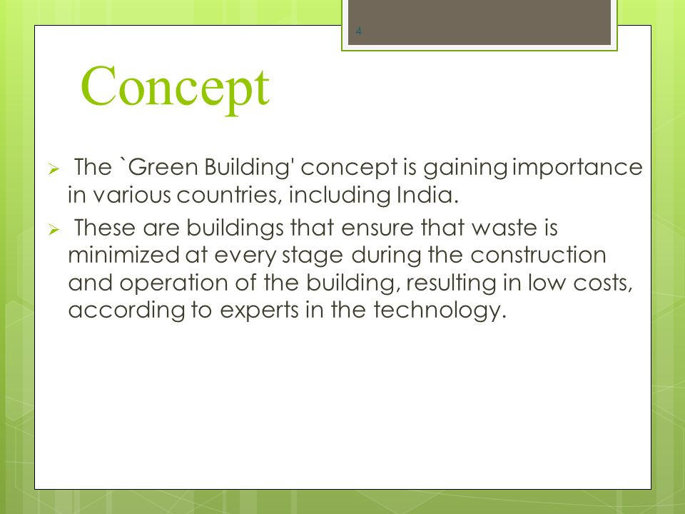 the importance of green technology It is already pretty clear that human activities lead to really concerning pollution of the planet and to the importance of green technology.
