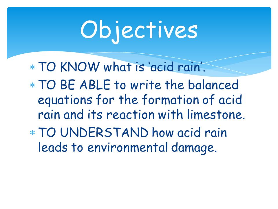 understanding what acid rain is and its effects The air pollution that causes acid rain and to counteract the effects it has on our  world visit wwwdecnygov for information for kids interested in the environment.
