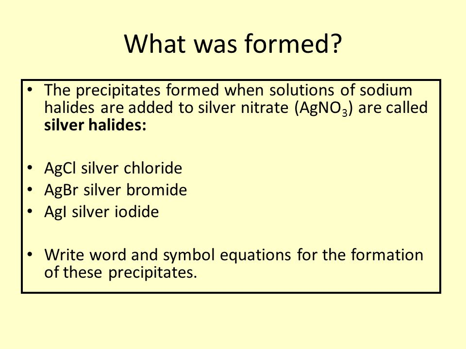 how to write silver nitrate