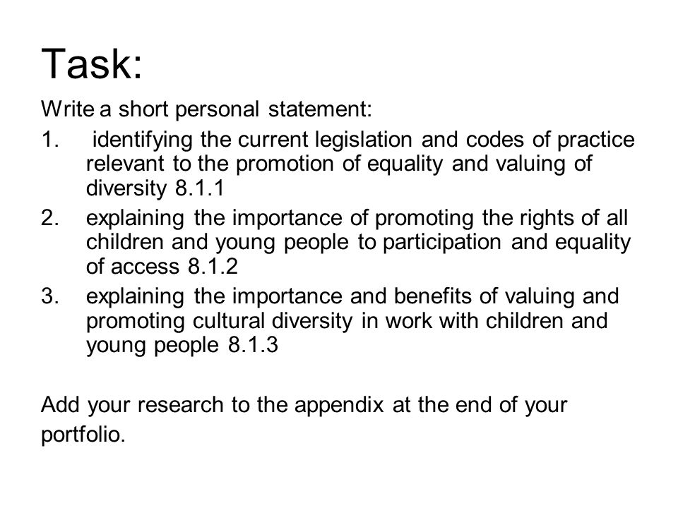 personal statement on promoting a group research 4) a confidentiality statement: if you're collecting data for the purpose of studying a group as a whole, rather than individual respondents, make sure you promote the survey as confidential assuring respondents stay anonymous will allow them to put their privacy concerns at ease and answer all questions truthfully.