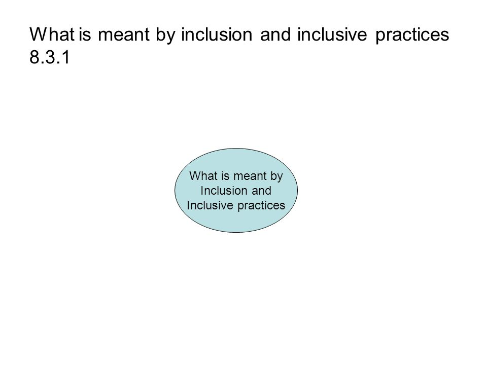1 1 explain diversity equality inclusion 11 explain models of practice that underpin equality, diversity and inclusion in own area of responsibility equality is to treat all as individuals to respect race, disability, age.