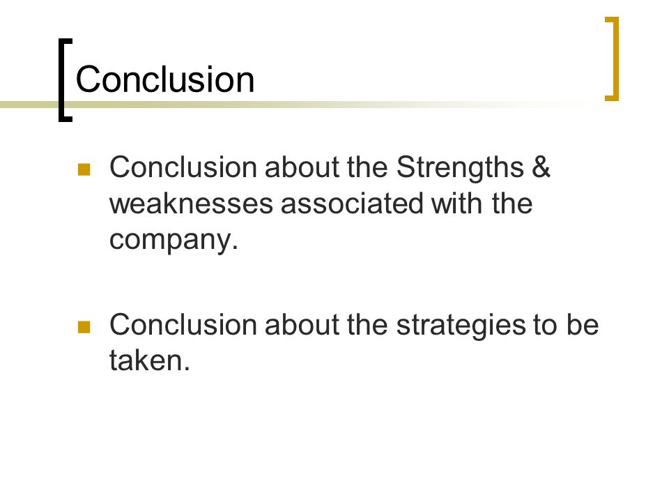 nestle india how to overcome weakness and avoid threats Weaknesses and threats wt how can you minimize your weaknesses and avoid from mgmt 670 how can you use your opportunities to overcome the weaknesses you are.