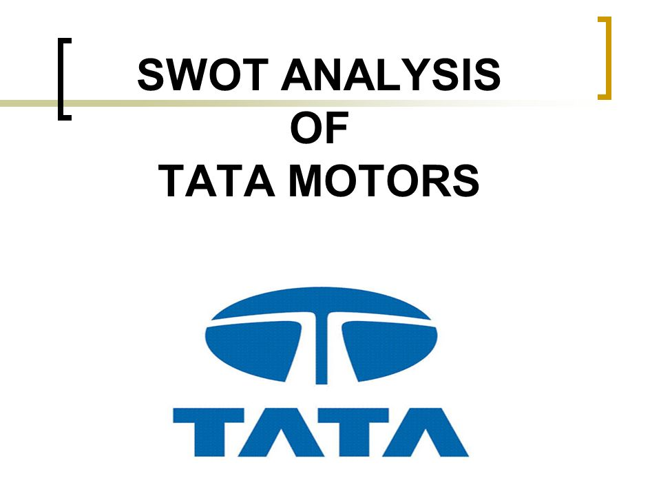 swot of tata jaguar The latest tata motors limited automotive business news, analysis, comment and interviews from just-auto, the website for automotive industry professionals.