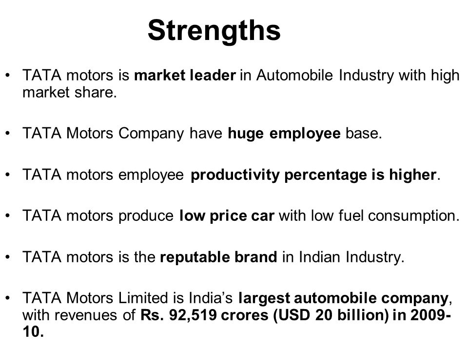 swot analysis of tvs motor company limited