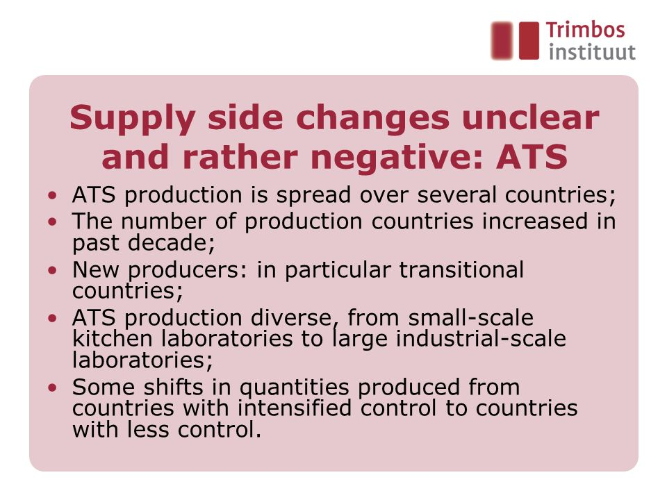 Supply side changes unclear and rather negative: ATS