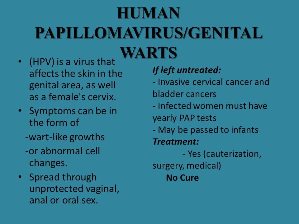 HUMAN PAPILLOMAVIRUS/GENITAL WARTS