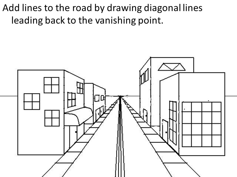 two point perspective drawing tutorial pdf