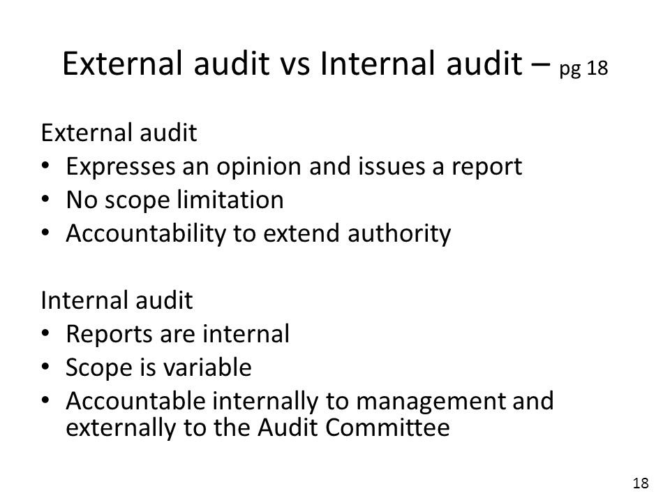 Unit Standard : Conduct Audit Planning And Implementation In A