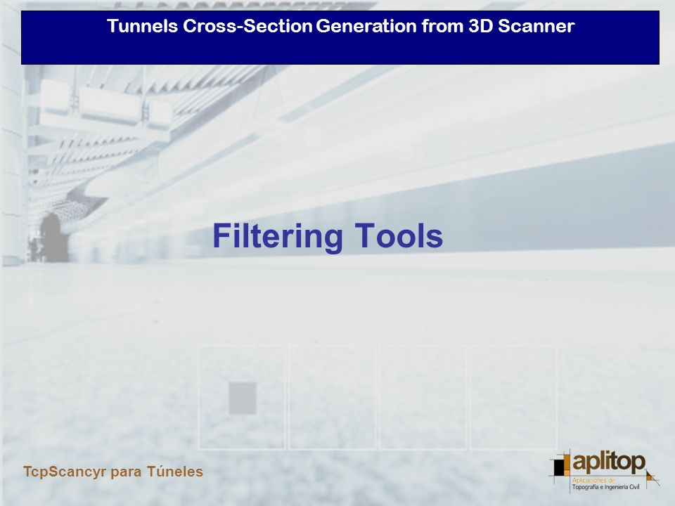 Filtering Tools