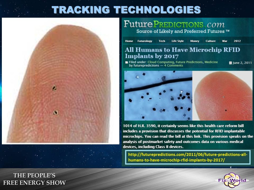 microchip tracking devices for humans
