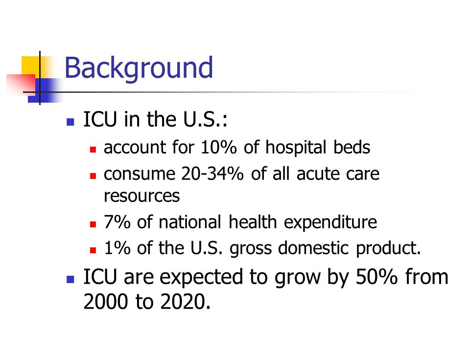 Number Of Acute Care Hospital Beds In The Us