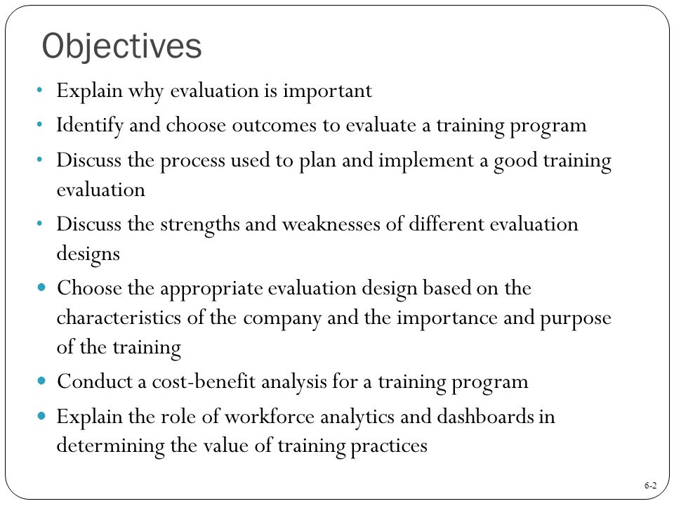 Needs Analysis: How to determine training needs