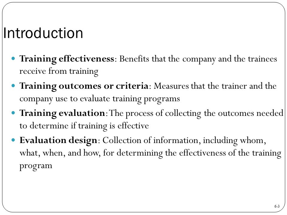 Training Evaluation Chapter   Ppt Download