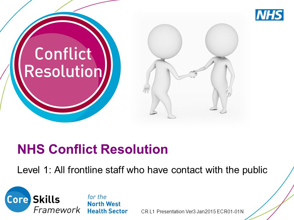 conflict resolution in public sector Provides students with skills in preventive diplomacy, mediation, and peacebuilding that can be applied to any sector of public and international affairs  the specialization in international conflict resolution (icr) provides students with the knowledge and tools to tackle international and .