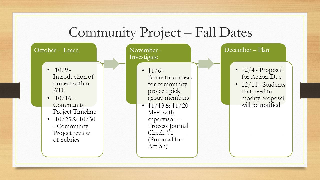 community service proposal template - community project timeline what are my deadlines ppt
