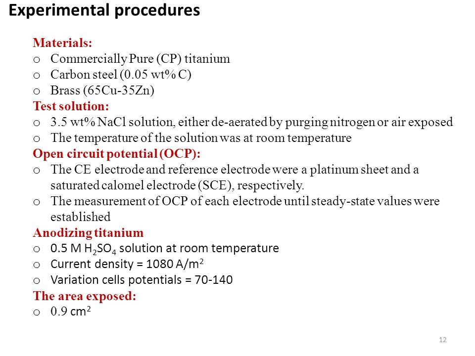 Galvanic Corrosion Bimetallic Corrosion Behavior Of