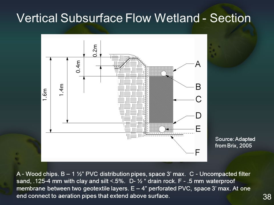 Constructed Wetlands For Wastewater Treatment In Small