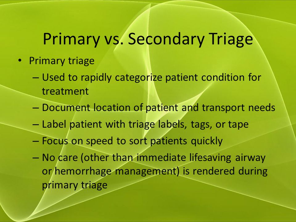 The Difference Between Primary, Secondary and Tertiary Health Care