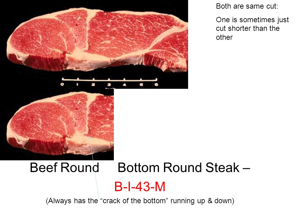 how to cut a bottom round roast into steaks