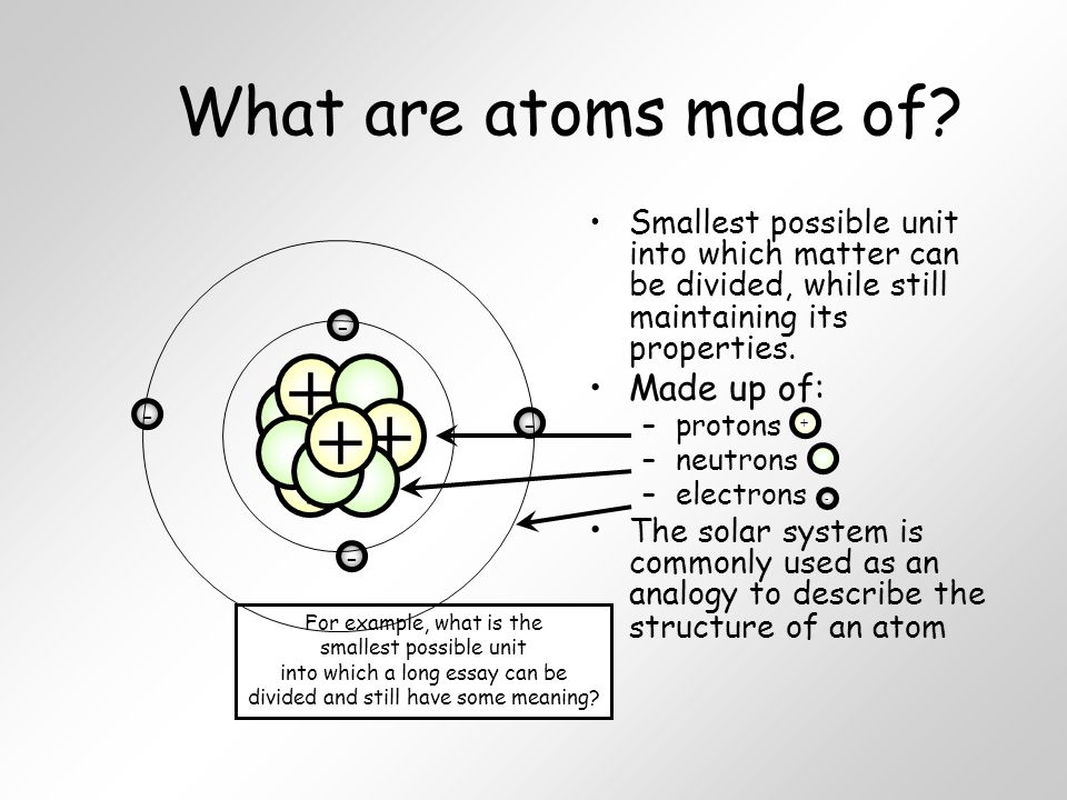 matter and its properties essay Gk question and answers on chemistry: matter and its states will help in the preparation of one day exams, state services exam, and civil services exam as well as for academic also.