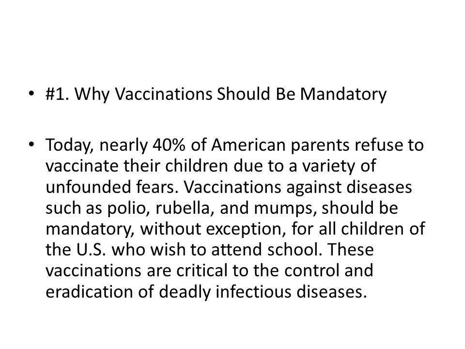 good thesis statement for vaccinations In this section, we will show you how to write an expository essay thesis statement using the best guidelines and well written examples.