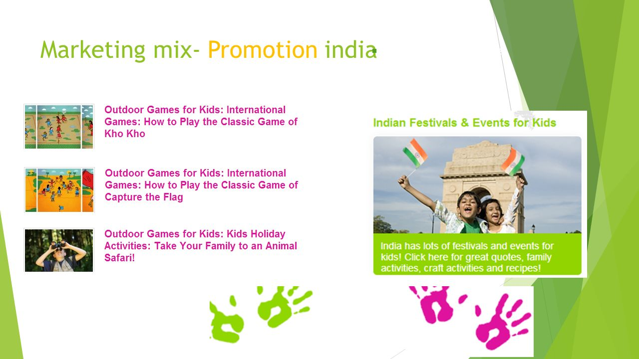 marketing mix indian context Module 3 promotion and marketing in tourism ask if anyone knows what a marketing mix consists of they consist of the natural and cultural resources, places and events that, by their characteristics or location in a context.