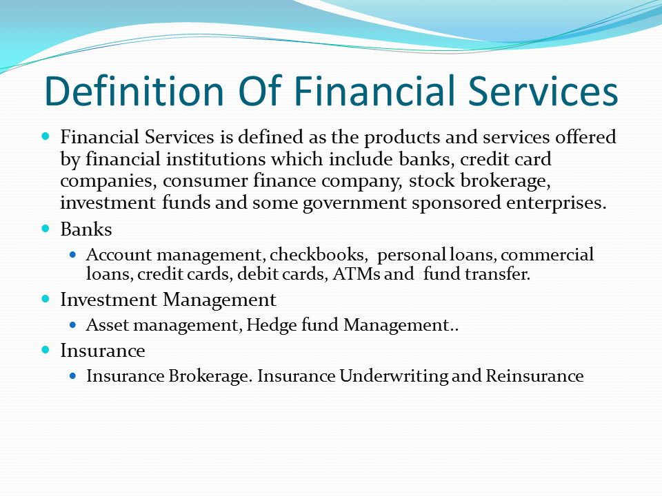 Definition Finance Week 2