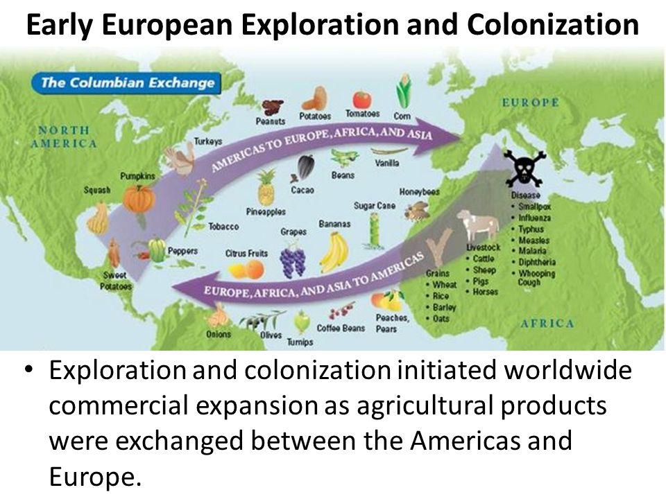 reasons european exploration americas The centralized governments, although not of principal influence, did play a vital role in provoking european expansion these rulers, with the weakening of the.