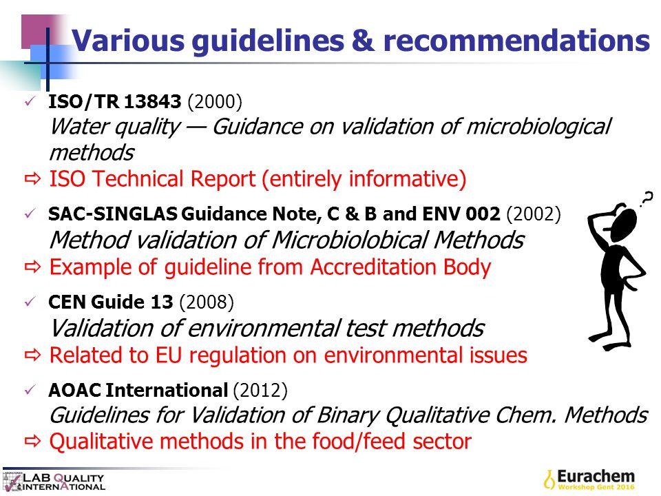 international guidance