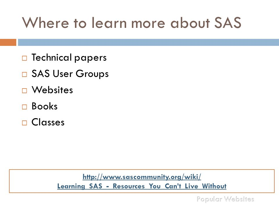 Good Book for SAS programmers - SAS Support Communities