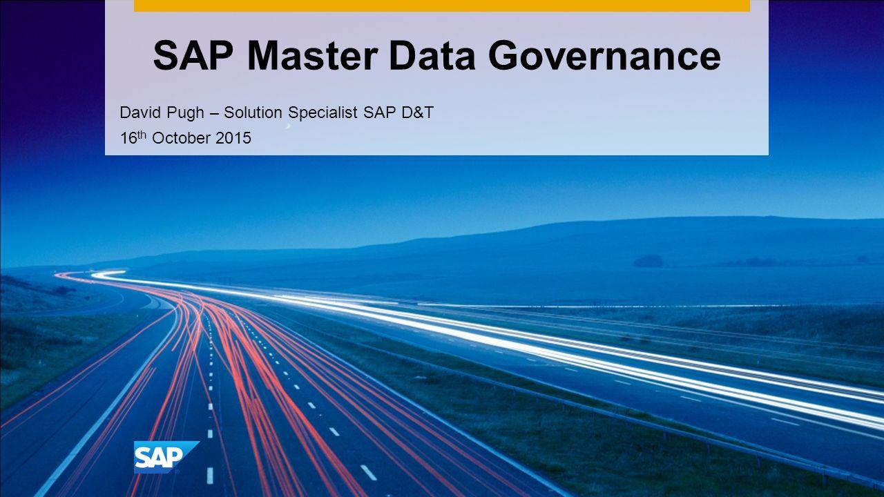 SAP Master Data Governance ppt download – Master Data Specialist