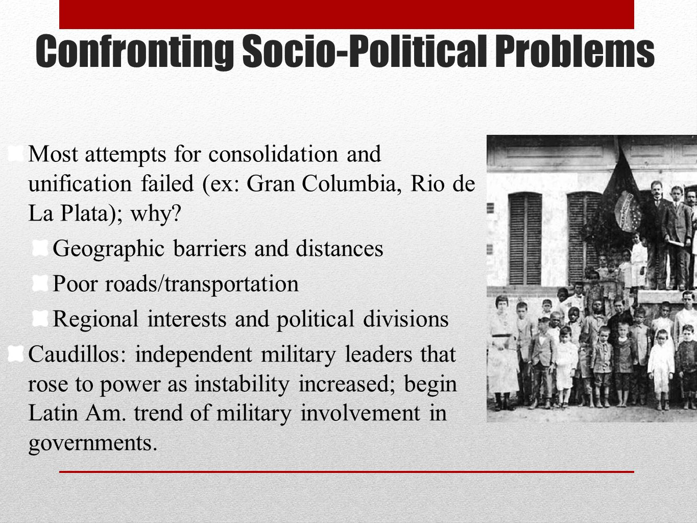 Confronting Socio-Political Problems