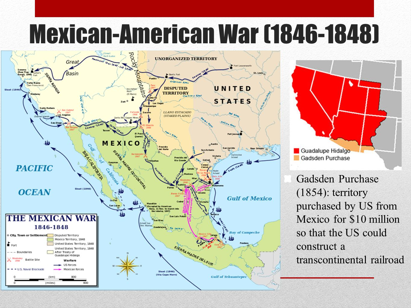 Mexican-American War ( )