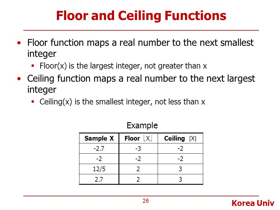 Lecture 8 alu shifter counter ppt video online download for Floor function example