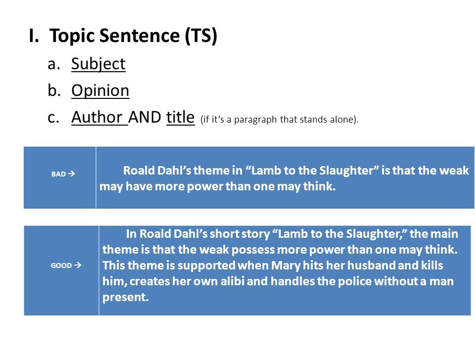 short story essay notes ppt  3 i