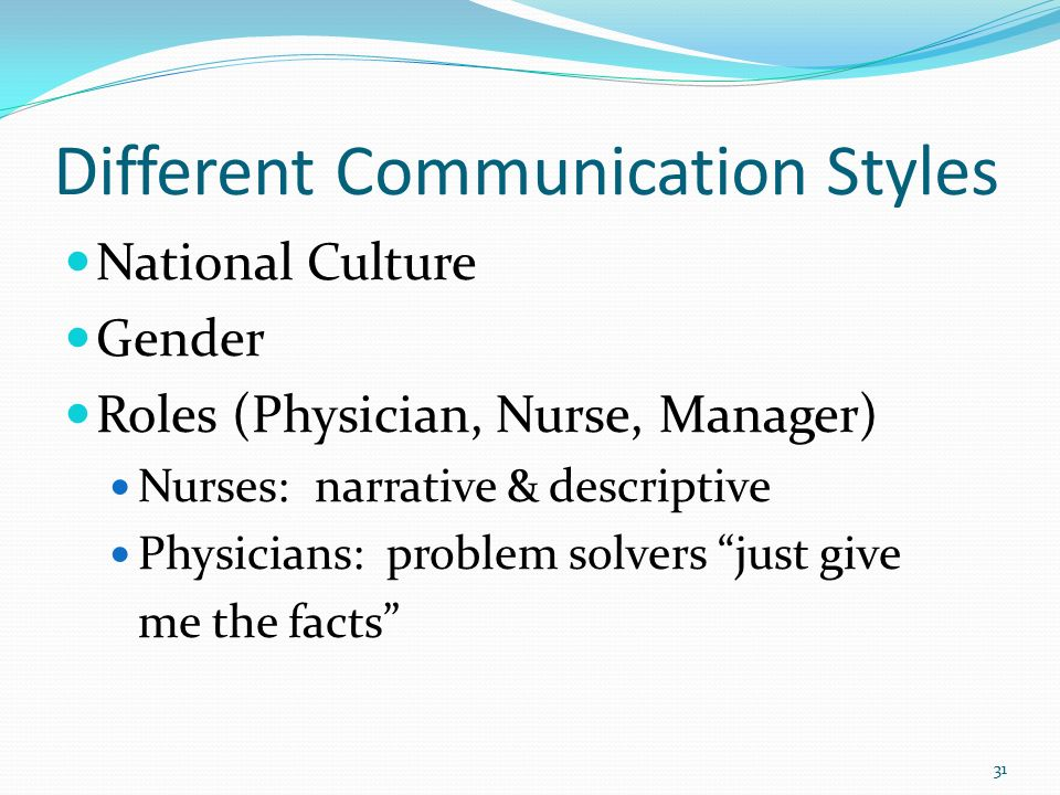 different communication style There are four main styles of communication: passive, aggressive, passive- aggressive, and assertive passive communication not expressing feelings or  needs.