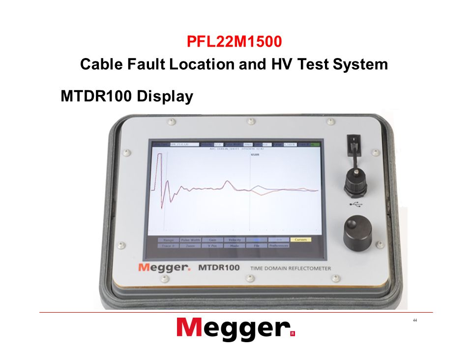 Cable Fault Locator On Line : Cable fault products from megger ppt video online download