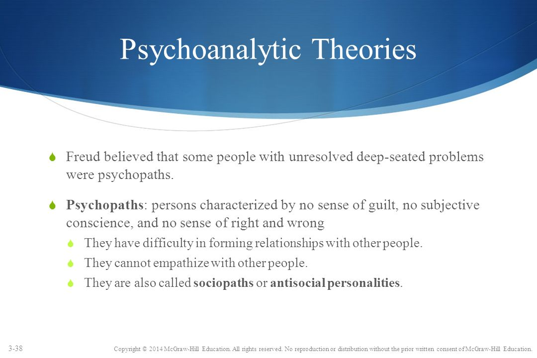 psychological theories for explaining crime Basic idea of the positive theory: criminals are born not made this is an example of nature, not nurture focused on biological and psychological factors to explain.