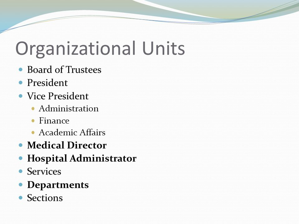 Management St. Louis University Hospital Of The Sacred Heart - Ppt