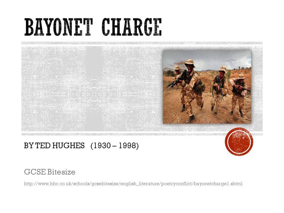 bayonet charge gcse
