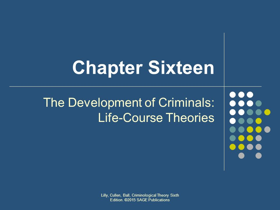 the life course theory The life course theory suggests that each life stage influences the next, and together the social, economic and physical environments in which we live have a profound influence on our health and the health of our community.