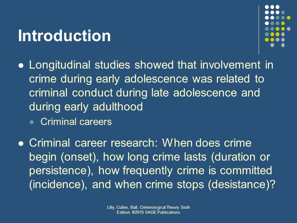 theories on criminals Criminal theory study guide by franklin_uesi includes 60 questions covering vocabulary, terms and more quizlet flashcards, activities and.