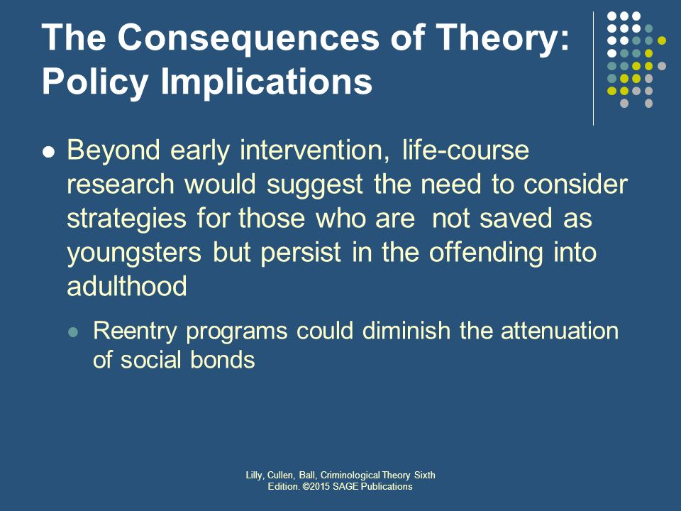 the evolution and policy implications of Causes and correlates: findings and implications also the causes and correlates studies: findings and policy implications by terence p thornberry, david huizinga ining youth development in the context of family, school, peers.