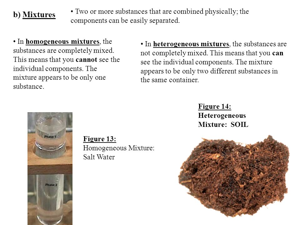 The study of matter and energy ppt download for Soil homogeneous or heterogeneous