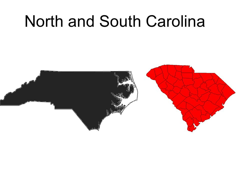 North and South Carolina
