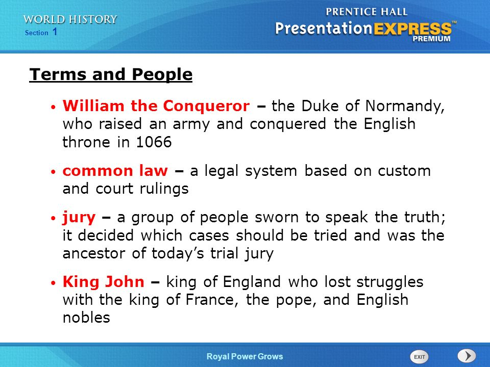 objectives learn how monarchs gained power over nobles and the  2 terms