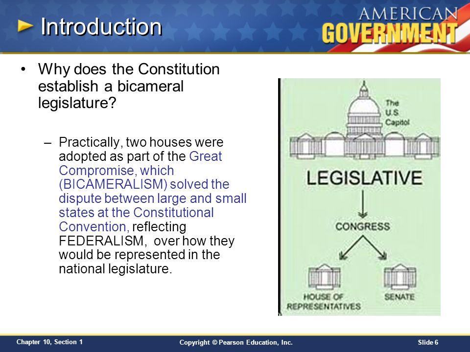bicameral legislature