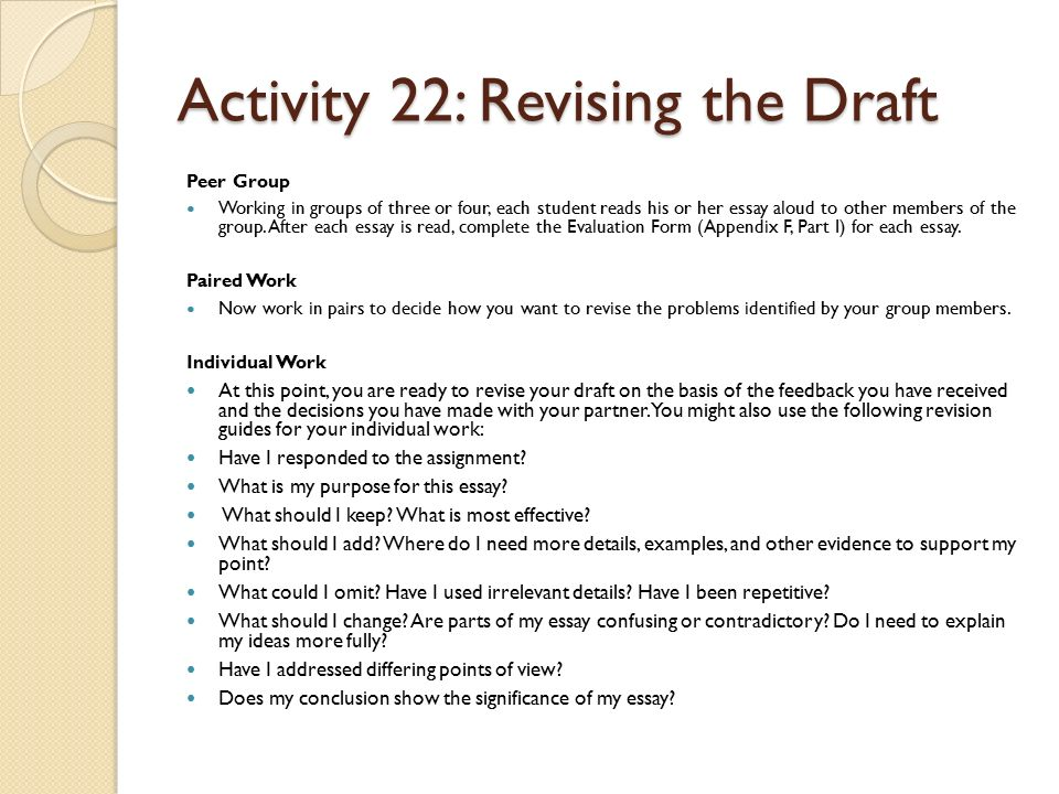 leopard man the strategies in these sections of the erwc are  53 activity 22 revising the draft peer group working